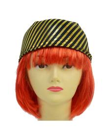 Бандана пирата полосатая (Золотая) 040519-001