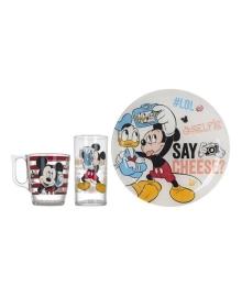 Набор Luminarc Disney Party Mickey, 3 эл.