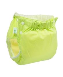 Многоразовый подгузник Эко Пупс Active Premium Abso Maxi Зеленый (12-17 кг)