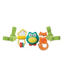 Навесные вращающиеся игрушки Infantino Путешественники