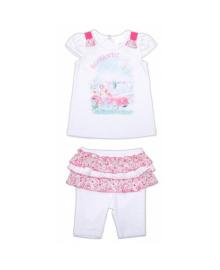 Комплект футболка и лосины Romantic Garden baby 40148-16