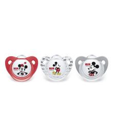 Пустышка NUK Trendline Disney Mickey cиликон р. 1 (в ассорт)