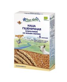 Каша Fleur Alpine пшеничная (спельтовая) на козьем молоке 200 г