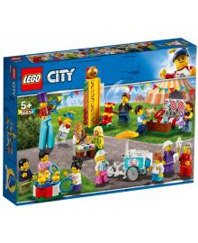 Конструктор LEGO Minifigures Набор минифигурок «Весёлая ярмарка» (60234), 5702016370553