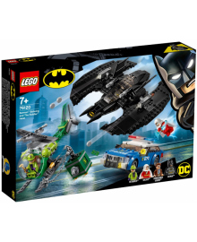 Конструктор LEGO Super Heroes Бэткрыло Бэтмена и ограбление Загадочника (76120)