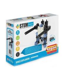 Конструктор Engino Stem Heroes Исследование космоса: Посейдон SH21, 5291664003147