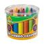Набор больших восковых мелков Crayola Mini Kids Jumbo crayons 24 шт