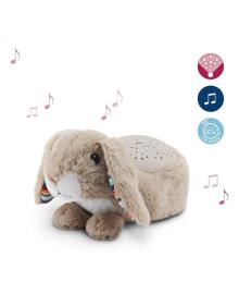 Музыкальный проектор со звездами Zazu Ruby Кролик