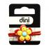 Резинка для волос детская Dini Kids Цветок, красный (d-081), 4823098403081