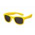 Детские солнцезащитные очки Koolsun Wave, 3-10 лет, золотой (KS-WAGR003)
