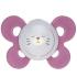 Силиконовая пустышка Chicco Physio Comfort с футляром, 16-36 мес., розовый (74915.31)