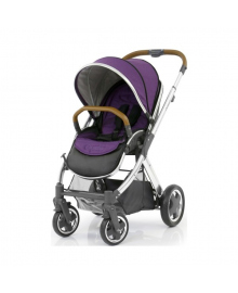 Универсальная коляска 2 в 1 Oyster 2 Wild Purple/Mirror Tan BabyStyle