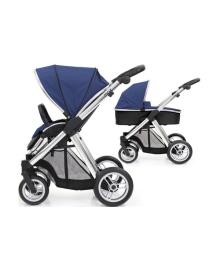 Универсальная коляска 2 в 1 BabyStyle Oyster Max Navy/Mirror
