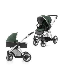 Универсальная коляска 2 в 1 BabyStyle Oyster Max Olive Green/Mirror