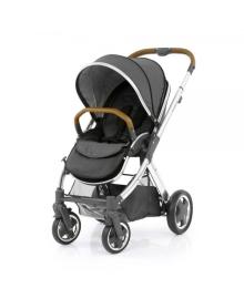 Универсальная коляска 2 в 1 Oyster 2 Tungsten Grey/Mirror Tan BabyStyle