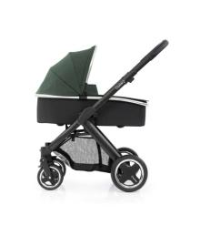 Универсальная коляска 2 в 1 Oyster 2 Olive Green/Mirror Black BabyStyle