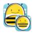 Набор тарелок Skip Hop Пчелка 252204