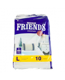 Пеленки одноразовые Friends Nobel Hygiene 90см х 60, 10 шт.