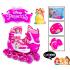 Комплект детских роликов  Princess. Все колеса светятся! 34-37 (1373345290)