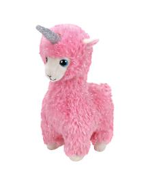 Мягкая игрушка TY Розовая лама-единорог Lana