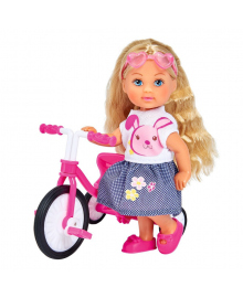 Набор Steffi & Evi Love Эви на велосипеде