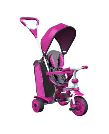 Детский велосипед Spin Y STROLLY Розовый с большой сумкой 100897
