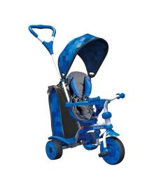 Детский велосипед Spin Y STROLLY Синяя мозаика 100910