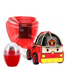 Мини-машинка Robocar Poli Рой в яйце 2.8 см