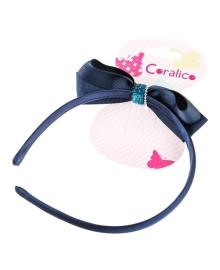 Обруч для волос Coralico Blue bow 229104