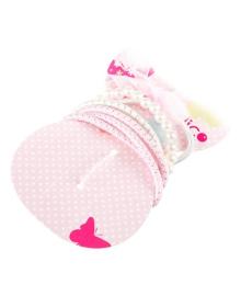 Набор резинок для волос Coralico Princess розовый, 6 шт. 229114