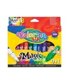 Фломастеры Colorino Magic, 10 шт./18 цветов 34630PTR, 5907690834630