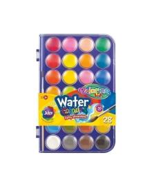 Краски акварельные Colorino, 28 цветов 67317PTR, 5907690867317