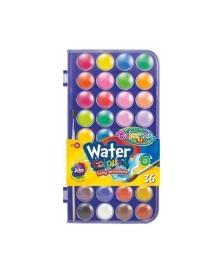 Краски акварельные Colorino, 36 цветов 67324PTR