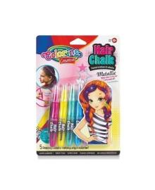 Меловые карандаши для волос Colorino, 5 цветов 68680PTR