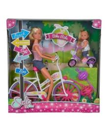 Набор Steffi & Evi Love Штеффи и Эви Прогулка на велосипедах