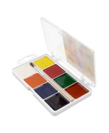 Краски акварельные Гамма 8 цветов с кисточкой 312041