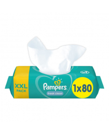 Влажные салфетки Pampers Fresh Clean XXL Pack 80 шт