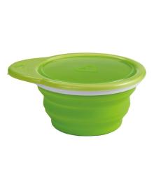 Дорожная тарелка Munchkin Go Bowl Зеленая 012377.03, 2900990754588