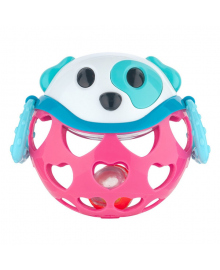 Игрушка Canpol babies Розовая собачка