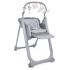 Стульчик для кормления Chicco Polly Magic Relax, серый (79502.21), 8058664108732