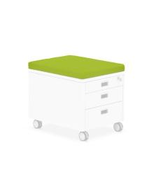 Подушка-сидение Moll Pad Green для тумбы Mini 170701