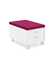 Подушка-сидение Moll Pad Bright Pink для тумбы Mini 170401