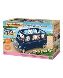 Игровой набор Sylvanian Families Семиместный автомобиль, синий 5274