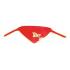 Слюнявчик-платок на шею Sevi Bebe с аппликацией Красный
