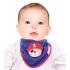 Слюнявчик-Платок на шею Sevi Bebe с аппликацией Синий 14/1473, 8692241101473