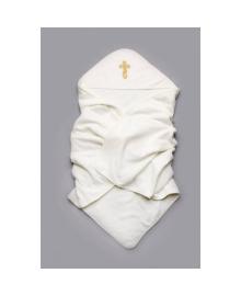 Крыжма махровая для крещения золото Модный карапуз 03-00300-0