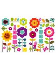 Декоративная наклейка Designstickers Цветы 50613839, 2250613839018