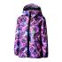 Пальто Be easy 104 Фиолетовый с принтом (19VKD2-04-2008)