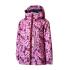 Пальто Be easy 134 Розовый с принтом (19VKD2-34-2007)