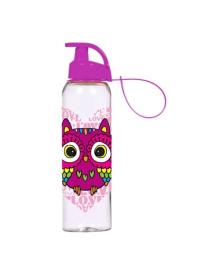 Бутылка Herevin Owl фиолетовая, 750 мл
